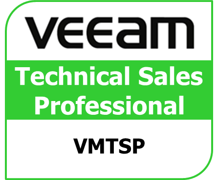 VMTSP Veeam Technical Sales Professional