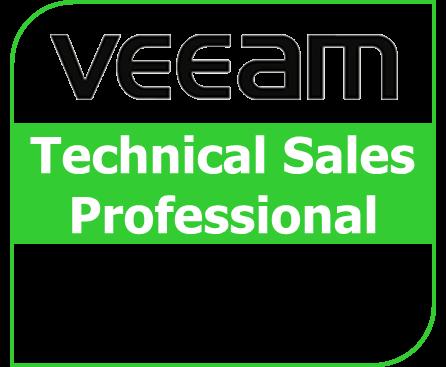 VMTSP Veeam Technical Sales Professional